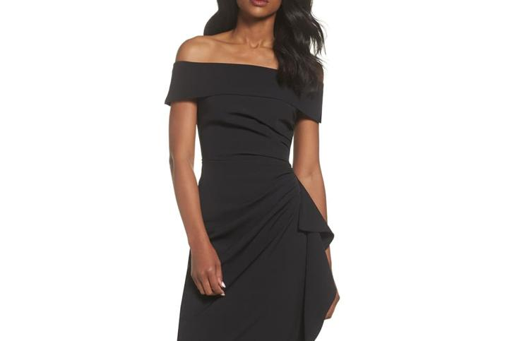 Vince Camuto Off the Shoulder Gown - Nordstrom
